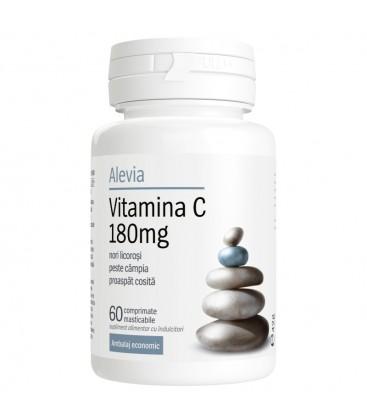 Vitamina C 180 mg x 60 cp Cutie  ALEVIA