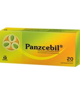 PANZCEBIL X 20 DRAJ. GASTROREZ. FARA CONCENTRATIE BIOFARM
