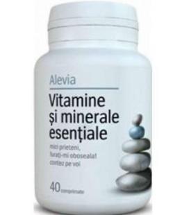 Vitamine si minerale esentiale x 40 cp