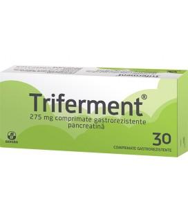 TRIFERMENT 275 mg X 30 COMPR. GASTROREZ. 275mg BIOFARM