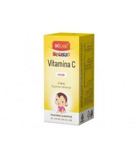 Vitamina C  Junior solutie x 10ml FLACON  BIOFARM