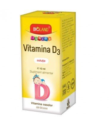 Vitamina D3 Kids solutie x 10ml Flacon  BIOFARM