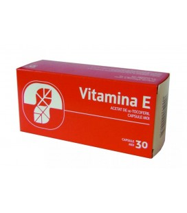 VITAMINA E 100 mg x 30 CAPS. MOI 100mg BIOFARM SA