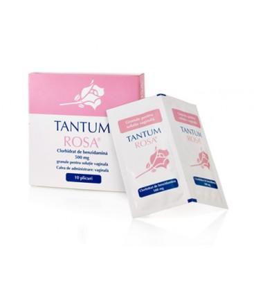 TANTUM ROSA X 10 GRAN. PT. SOL. VAGINALA 500mg/plic