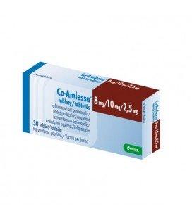 CO-AMLESSA 8 mg/10 mg/2,5 mg X 30 COMPR