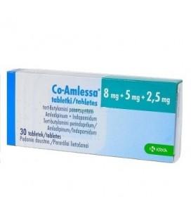 CO-AMLESSA 8 mg/5 mg/2,5 mg X 30 COMPR.