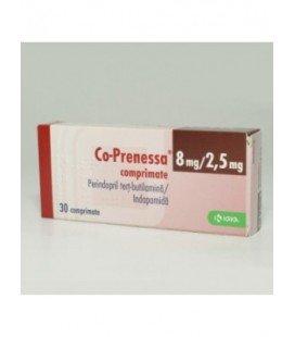 CO-PRENESSA 8 mg/2,5mg X 30 COMPR