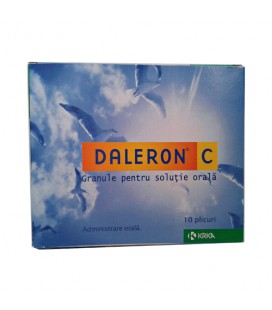 DALERON C X 10 GRAN. PT. SOL. ORALA