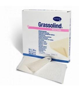Grassolind Neutral comprese cu unguent  7,5cm x 10cm x 10buc