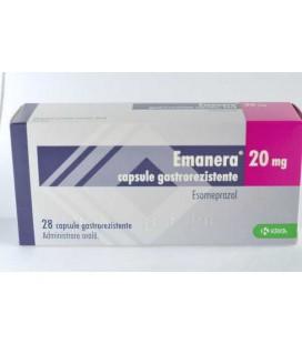 EMANERA 20 mg X 28 CAPS. GASTROREZ