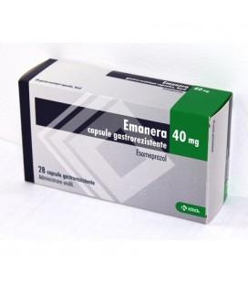 EMANERA 40 mg X 28 CAPS. GASTROREZ