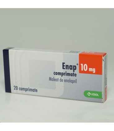 ENAP 10 mg X 20 COMPR