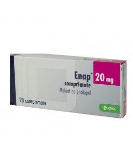 ENAP 20 mg X 20 COMPR