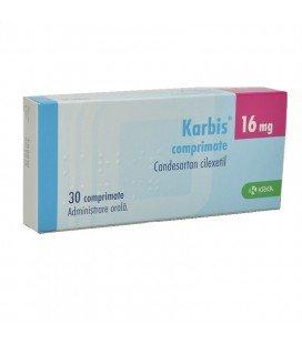 KARBIS 16 mg X 30 COMPR.