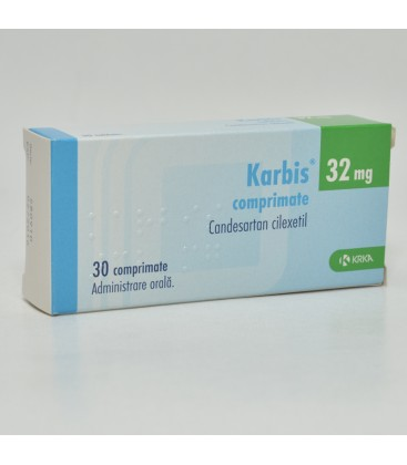 KARBIS 32 mg X 30 COMPR