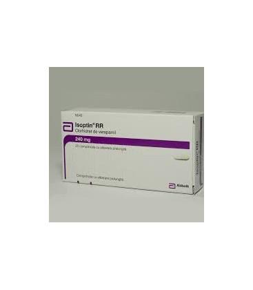 ISOPTIN RR 240 mg X 20 COMPR. ELIB. PREL. 240mg ABBOTT