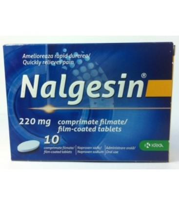 NALGESIN 220 mg X 10 COMPR. FILM.