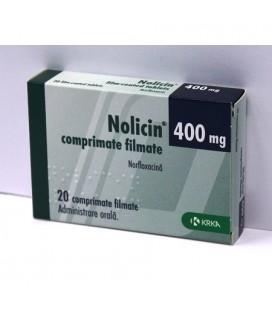 NOLICIN 400 mg X 20 COMPR. FILM.