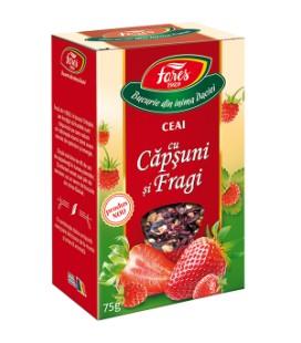 Aromfruct ceai capsuni si fragi x 50g