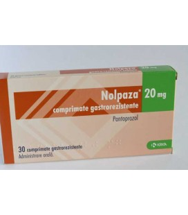 NOLPAZA 20 mg X 30 COMPR. GASTROREZ.