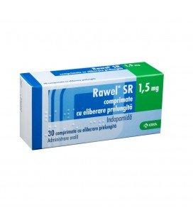 RAWEL SR 1,5 mg X 30 COMPR. FILM. ELIB. PREL.