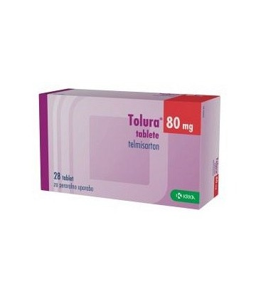 TOLURA 80 mg X 28 COMPR.