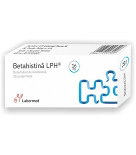 BETAHISTINA LPH 16 mg X 30 COMPR.
