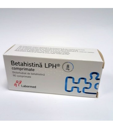 BETAHISTINA LPH 8 mg X 90 COMPR.