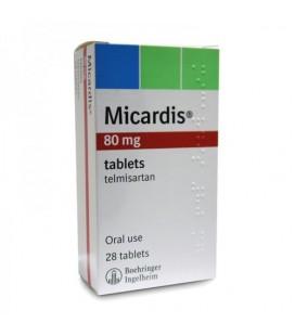 MICARDIS 80 mg X 28 COMPR. 80mg