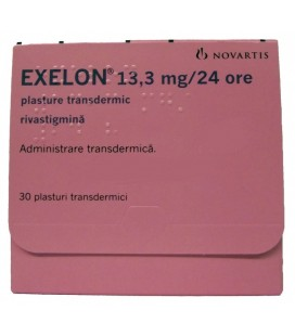 EXELON 13,3 mg/24h x 30 PLASTURE TRANSDERMIC NOVARTIS