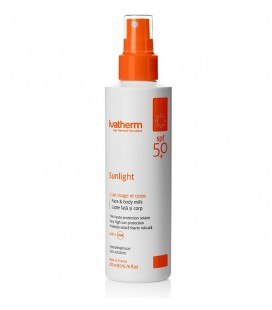 IVATHERM Sunlight Lapte SPF 50+ adulti x200 ml