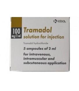 TRAMADOL 100MG/2ML X 5 SOL. INJ. 50mg/ml