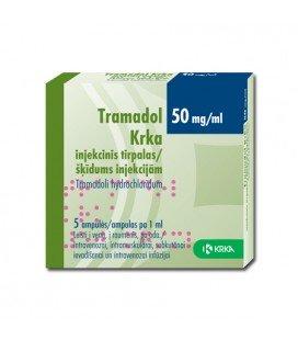 TRAMADOL 50mg/ml X 5 SOL. INJ.