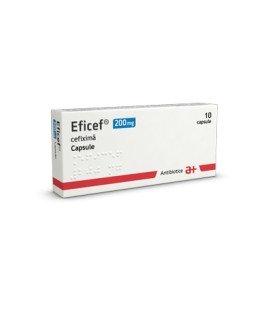 EFICEF 200 mg X 10 CAPS.