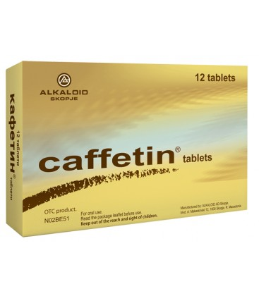 CAFFETIN X 12 COMPRIMATE