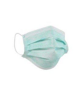 Masca chirurgicala hartie 3pliuri + legatura x 50b