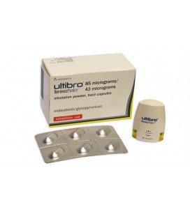 ULTIBRO BREEZHALER 85 micrograme/43 micrograme x 30 CAPS. CU PULB. DE INHAL. NOVARTIS