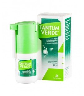 TANTUM VERDE SPRAY 1,5 mg/ml X 1 SPRAY BUCOFARINGIAN