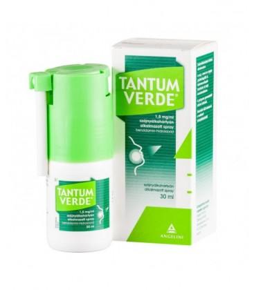 TANTUM VERDE SPRAY 1,5 mg/ml X 1 SPRAY BUCOFARINGIAN