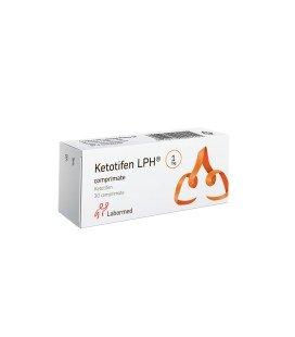KETOTIFEN LPH 1 mg X 30 COMPR.