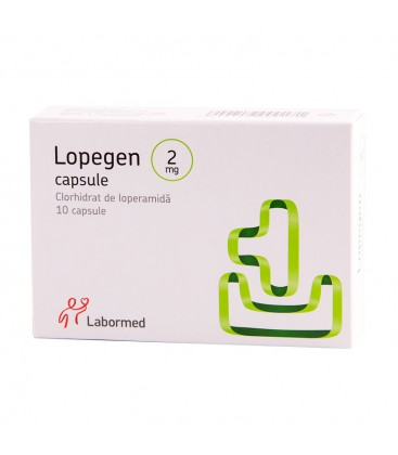 LOPEGEN 2 mg X 10 CAPS.