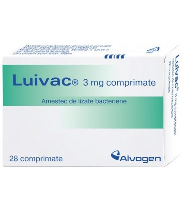 LUIVAC 3 mg X 28 COMPR.