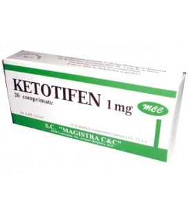KETOTIFEN X 20 COMPR. 1mg