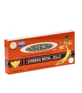 Ginseng+Royal Jelly x 10 fiole