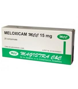 MELOXICAM MCC 15 mg X 20 COMPR. 15mg MAGISTRA