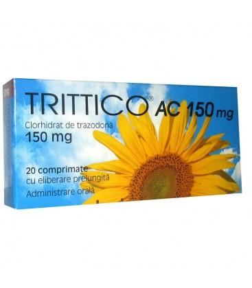 TRITTICO AC 150 mg X 20 COMPR. ELIB. PREL.