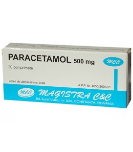 PARACETAMOL 500 mg X 20 COMPR. 500mg MAGISTRA