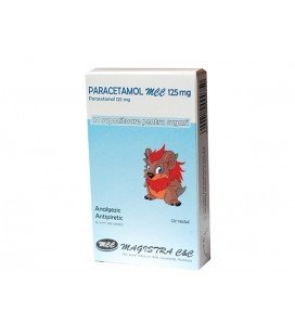 PARACETAMOL MCC 125 mg X 10 SUPOZ. 125mg MAGISTRA