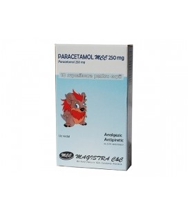 PARACETAMOL MCC 250 mg X 10 SUPOZ.