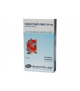 PARACETAMOL MCC 250 mg X 10 SUPOZ. 250mg MAGISTRA